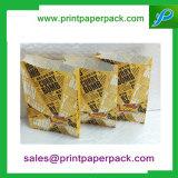 Бумажное обслуживание кладет жару в мешки пакетов магазина конфеты сладостную - мешок Kraft уплотнения бумажный