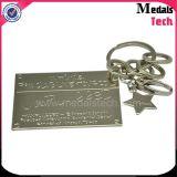 Держатель Keychains монетки металла логоса Таможни Тавра Компании