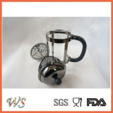 Wschsy002標準的で黒い銅のフランス人の出版物のコーヒーメーカーのステンレス鋼のコーヒー出版物の茶及びコーヒー鍋
