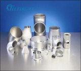 Coude d'ajustage de précision de pipe d'alliage de nickel, réducteur, té, extrémité de moignon