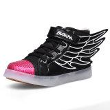 Ботинки хорошего зарева светящие СИД цены ботинок картины СИД дешевого взрослый светлые освещают вверх ботинки