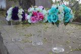 Vase à fleur acrylique fait sur commande de mariage