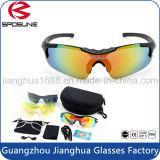 方法正方形の明確なサングラスの女性のブランドデザイナー型の人のスポーツガラスのカスタムロゴによって分極されるサングラス