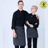 Costume por atacado que cozinha projetos dos uniformes do restaurante dos uniformes do cozinheiro chefe