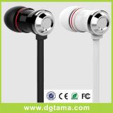 3.5mm 에서 귀 Samsung iPhone HTC LG를 위한 입체 음향 헤드폰 이어폰