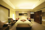 Cinco jogos da mobília do quarto do hotel da estrela