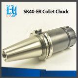 Держатель инструмента цыпленка Collet вспомогательного оборудования Sk40-Er CNC