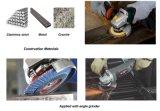 반토 산화물 실리콘 탄화물 지르코니아 산화물 거친 플랩 디스크