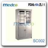 Медицинский шкаф микстуры, кухонный шкаф хранения нержавеющей стали стационара