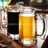 340ml avec la cuvette en verre neuve de cuvette transparente de bière de traitement