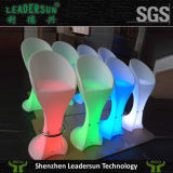 Mobilia esterna di illuminazione della presidenza della barra del rattan di banchetto dell'indicatore luminoso della decorazione LED