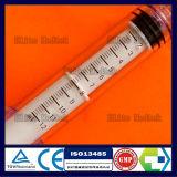 Siringa gestente di pressione a gettare medica con la serratura maschio girante di Luer
