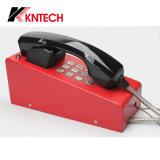 Telefone Autodial Desktop da linha de apoio a o cliente do telefone Knzd-28 do telefone de seletor da velocidade