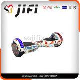 Individu électrique blanc de scooter équilibrant le scooter intelligent avec la lumière de décoration de Bluethooth DEL