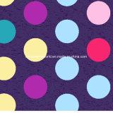il PUNTINO Pigment&Disperse di colore 100%Polyester ha stampato il tessuto per l'insieme dell'assestamento