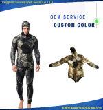 Freddo-Prova a due pezzi durevole Surfingsuit del neoprene di 5mm dell'uomo con il cappuccio