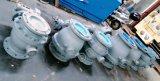 Le levier JIS 10k Wcb rf a bridé robinet à tournant sphérique avec l'homologation de la CE
