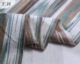El diseño largo de la tela del telar jacquar del sofá de la raya en 2016