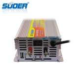 Inversor de la potencia el de alta frecuencia 12V 220V 2000W de Suoer con el cargador de batería (SUA-2000C)