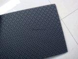 Geruchlose schwarze Farbe Gummi-EVA-Schaumgummi-Blatt für Schuhe