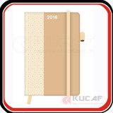 Cobertura dura A5 Notebook Diary Planner Cutom Printing