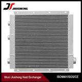 Intercambiador de calor del compresor de aletas de aluminio de alto rendimiento