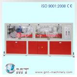 Estirador plástico de la producción de la tarjeta de la espuma de la corteza de WPC que hace la línea de la maquinaria