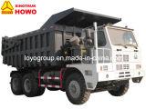 420HP를 가진 디젤 엔진 HOWO 70t 6X4 광업 덤프 트럭