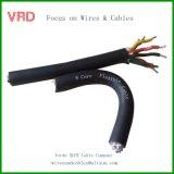Câble souple isolé par PVC de cuivre mou de conducteur, câble électrique