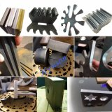 Maquinaria del corte del laser de la fibra de la hoja de cobre amarillo