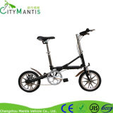 알루미늄 합금 Foldable 소형 도시 자전거 단 하나 속도
