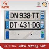 Алюминиевые номерные знаки автомобиля с отражательным листом