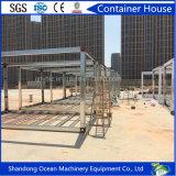 Huis van de Container van het Staal van de luxe het Ontwerp Geprefabriceerde van Comité van de Sandwich van de Structuur van het Staal het Bouw voor Bureau