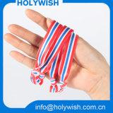 Personifiziertes Entwurfs-Polyester-elastisches Handgelenk-Band für Haar