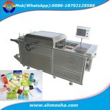 Semi-automático Perfume Carton Box Cellophane Overwrapping Packaging Machine