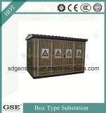 Sous-station en forme de boîte préfabriquée de l'Économie-Énergie Ybw-12 triphasée (européenne)