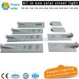 Réverbère solaire actionné économiseur d'énergie de mur extérieur de panneau solaire de détecteur de DEL