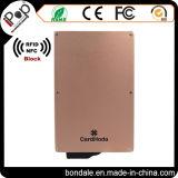 Protezione di alluminio del supporto di scheda per la carta di credito ed il blocchetto del caso di scansione