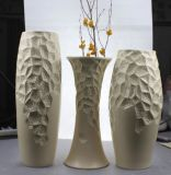 Design em relevo Ceramic Artware Vase Set