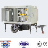 Tipo móvel purificador de Zym de petróleo do transformador do vácuo elevado