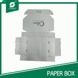 도매로 인쇄하는 까만 로고를 가진 백색 상자