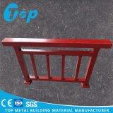 Поручень отделки поручня лестницы красного дуба поворачивая алюминиевый деревянный
