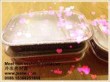 Gesundes Ofen-sicheres Aluminiumfolie-Vakuumwegwerfnahrungsmittelbehälter