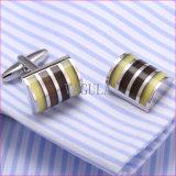 L'alta qualità di VAGULA Cuffs i gemelli 310 della camicia del diamante di collegamenti di polsino di Catseye Gemelos