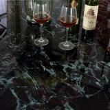 Jogo de mármore luxuoso por atacado vendável da tabela de jantar para o banquete