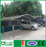 Aluminiumautoparkplatz