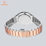 La cinghia dell'acciaio inossidabile degli uomini di marca della cassa di acciaio inossidabile di modo guarda l'orologio 72773 del quarzo