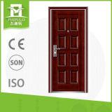 Diseño de acero de la puerta principal de China con precios bajos