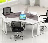 금속 가구 6 시트 사무실 분할 L 모양 워크 스테이션 (HX-NCD107)