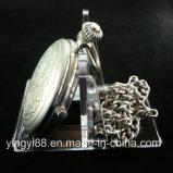 Novo suporte de exibição de relógio de bolso acrílico